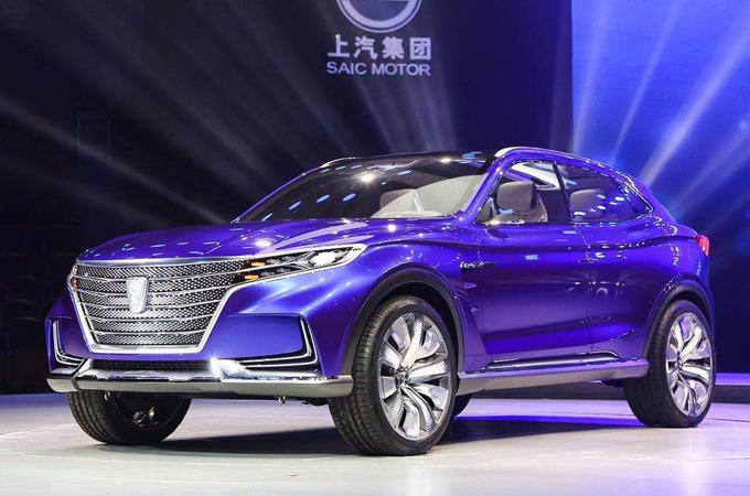 Roewe Vision-E: la lussuosa SUV concept verso Shanghai