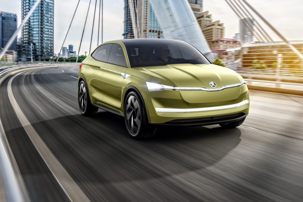 Skoda Vision E Concept: il SUV elettrico con 500 km d'autonomia debutta a Shanghai [FOTO e VIDEO]