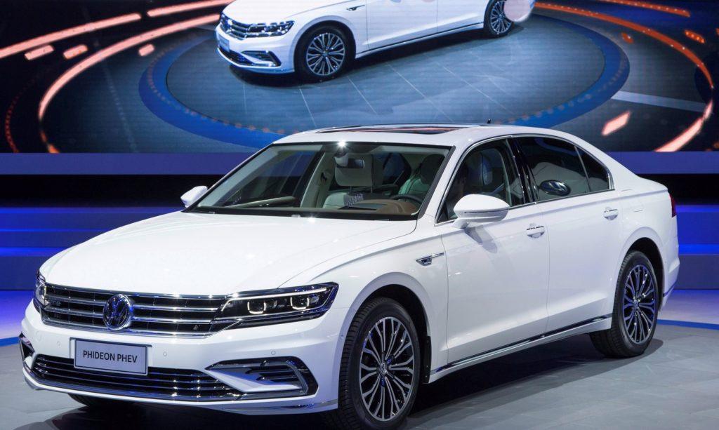 Volkswagen Phideon GTE: la berlina che porta l'ibrido plug-in di Wolfsburg in terra cinese [FOTO]