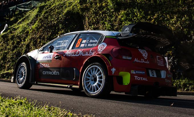 Tour de Corse, Citroën: straordinario Breen, l'irlandese chiude al quinto posto