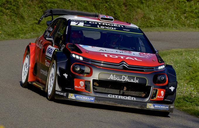 Tour de Corse, Citroën: Meeke parte col piede giusto