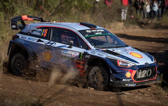 Rally d'Argentina, Hyundai: secondo successo consecutivo per Thierry Neuville