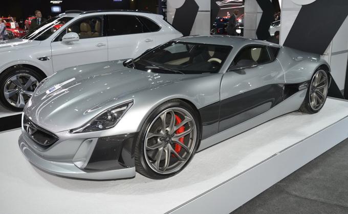 Rimac Concept One: la supercar elettrica in veste aggiornata al Salone di New York