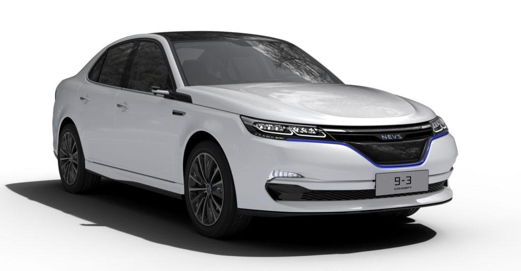 NEVS: nuova vita alla Saab 9-3