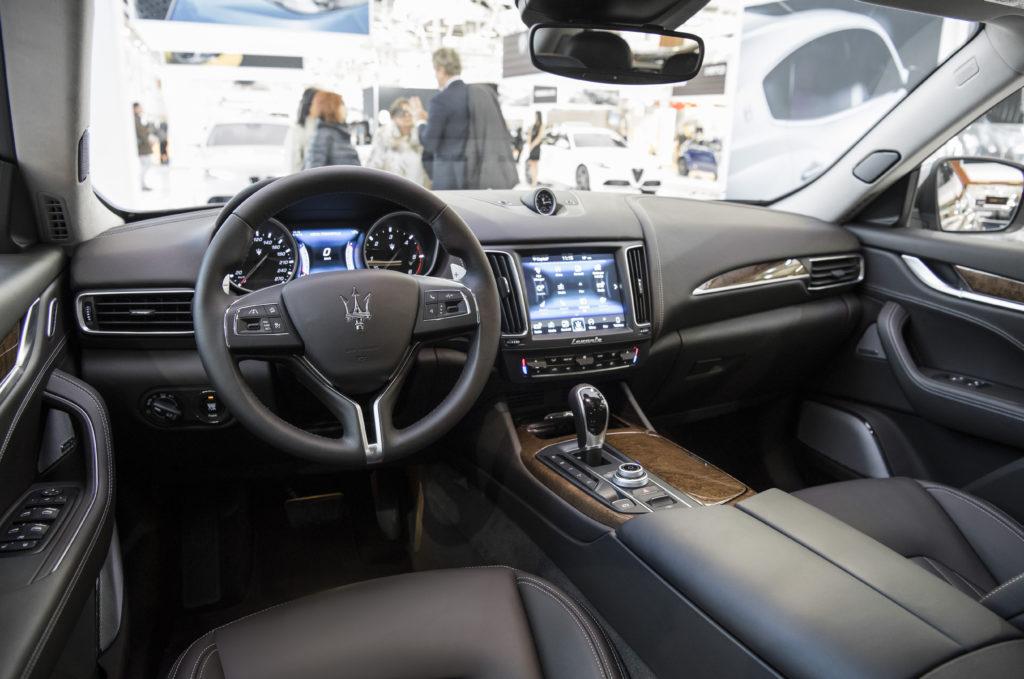 "Maserati Levante premiata ai ""Wards Ten Best Interiors"""