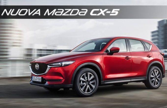 Mazda CX-5: diffusi i listini per il mercato italiano