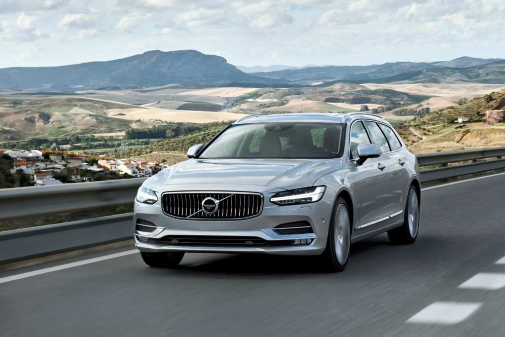 Volvo: vendite a gonfie vele ad Aprile 2017