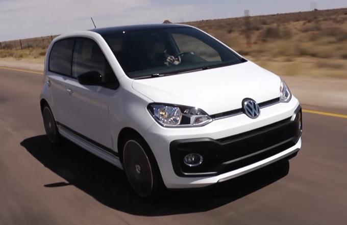 Volkswagen Up! GTI: l'utilitaria sportiva verso il debutto