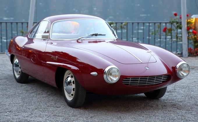 Alfa Romeo Giulietta SS Prototipo trionfa al Concorso d'Eleganza Villa d'Este