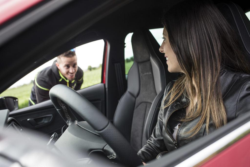 Andrea Dovizioso - SEAT Leon Cupra