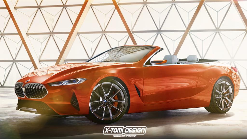 BMW Serie 8: la cabrio sarà davvero così? [RENDER]