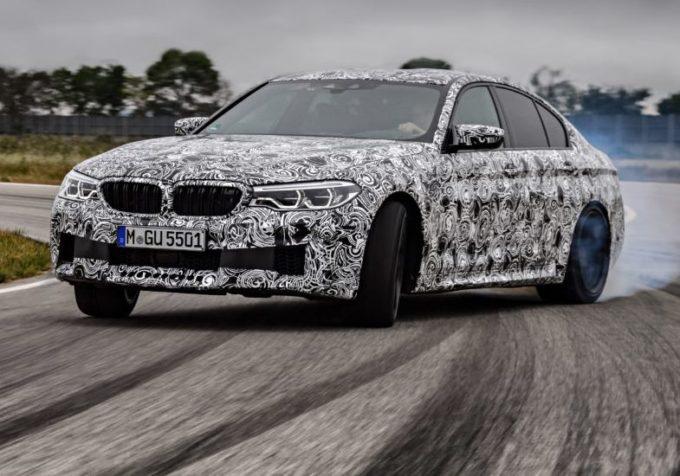 BMW M5 MY 2018 messa alla prova da Timo Glock [VIDEO]