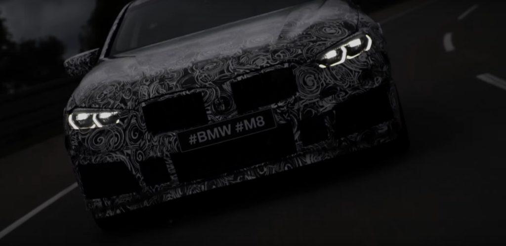 BMW M8: un filmato ne anticipa l'aspetto [TEASER]