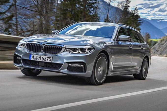 bmw serie 5 touring my 2017 la nuova wagon bavarese in. Black Bedroom Furniture Sets. Home Design Ideas