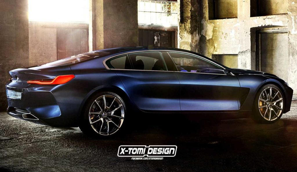 BMW Serie 8: immaginando le versioni gran coupé, shooting brake e pick-up [RENDERING]