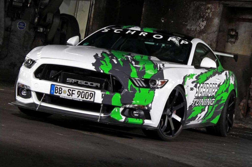 Ford Mustang by Schropp: tuning da 807 CV per la muscle car americana [FOTO]