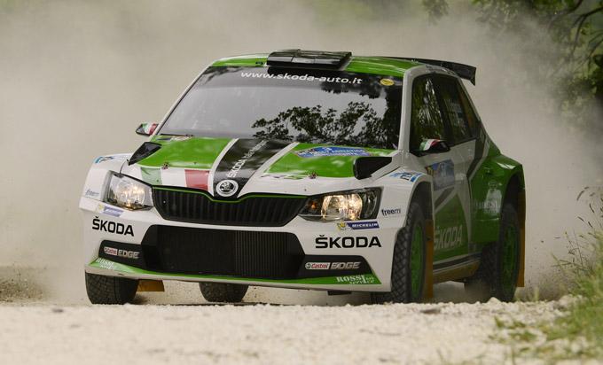 Rally Adriatico, Škoda: Scandola firma la prima vittoria stagionale