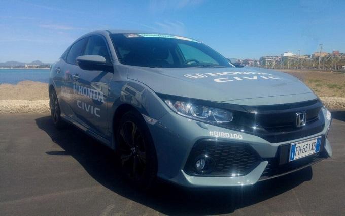 Honda è sponsor e auto e moto ufficiale del 100° Giro d'Italia