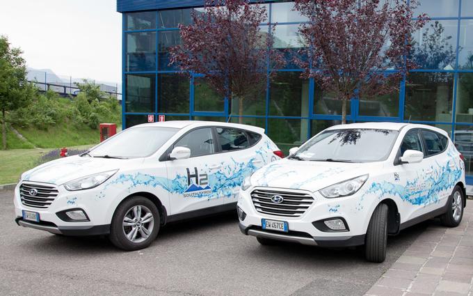 Hyundai, mobilità a idrogeno: percorsi oltre un milione di chilometri in Alto Adige
