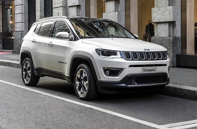 Jeep Compass 2017: prime fotografie ufficiali