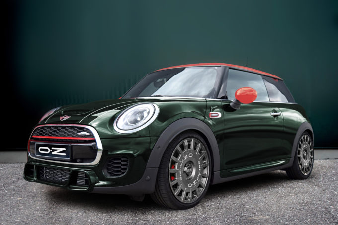 mini john cooper works oz omologa i cerchi in lega rally. Black Bedroom Furniture Sets. Home Design Ideas