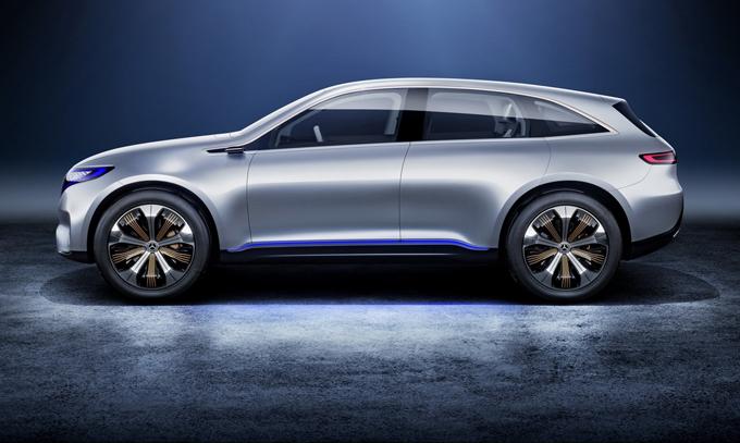 Mercedes EQ: la futura compatta elettrica sarà prodotta a Rastatt