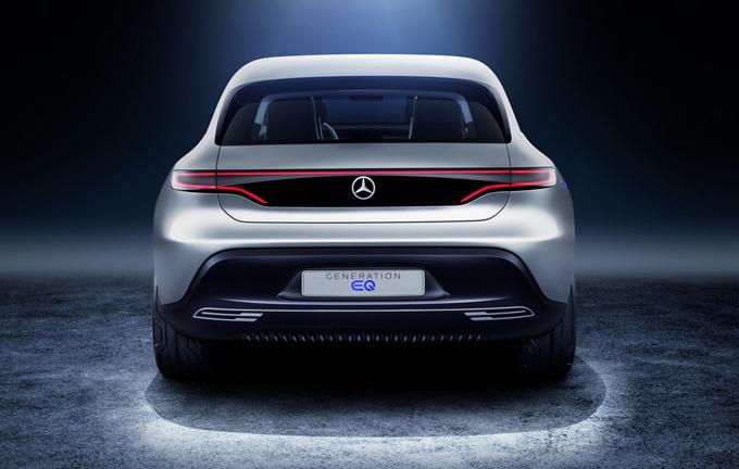 Mercedes: nuova concept di berlina elettrica attesa per il Salone di Francoforte