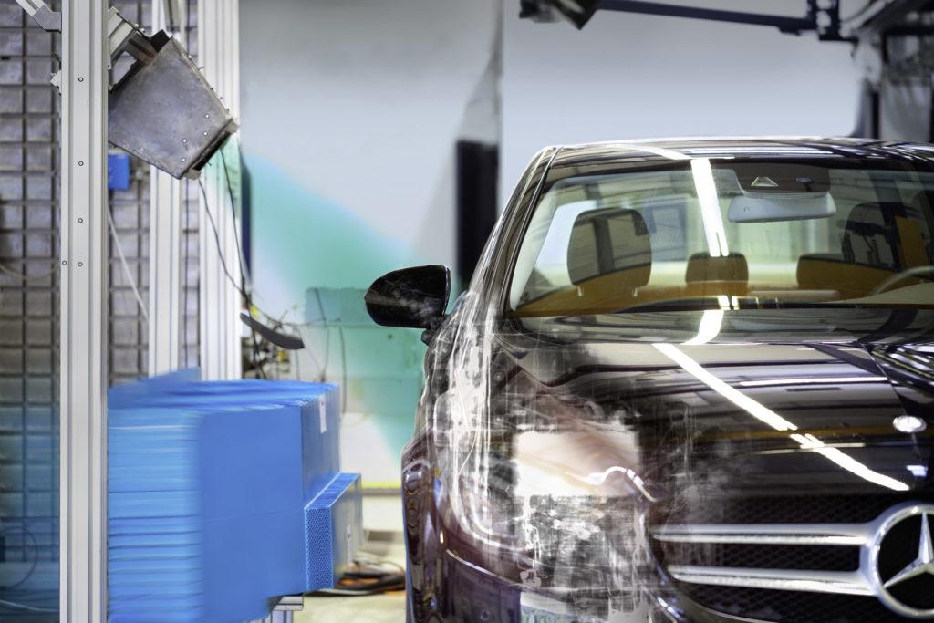 Mercedes - Radiografia di un crash test