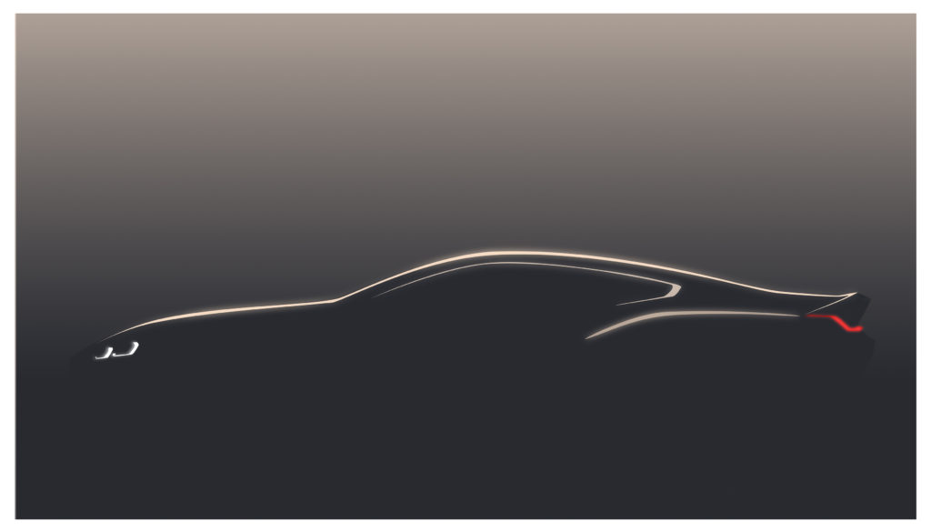 Nuova BMW Serie 8 Coupe: svelata la prima immagine [TEASER]