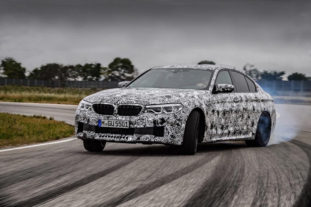 """Nuova BMW M5: sarà dotata della """"M xDrive"""" un tipo di trazione integrale appositamente sviluppata"""