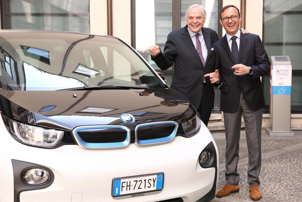 BMW i3: auto ufficiale del Teatro alla Scala di Milano