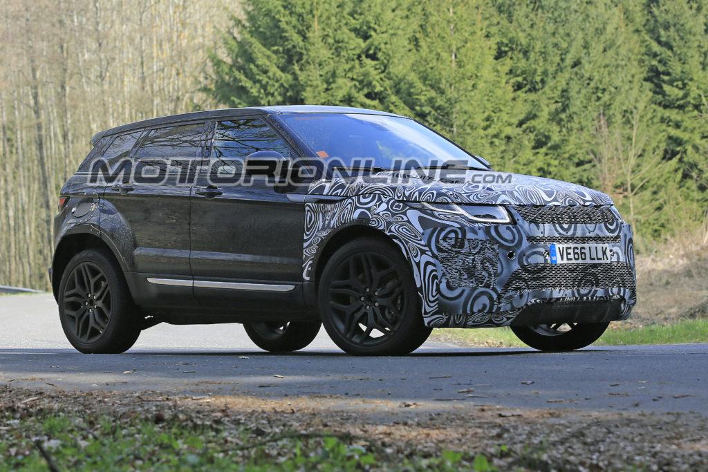Range Rover Evoque Al Via I Test Della Seconda Generazione Foto Spia