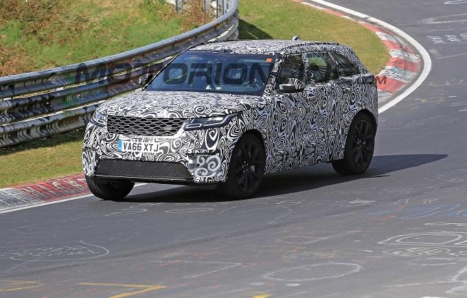 Range Rover Velar SVR filmata in azione al Nürburgring [VIDEO SPIA]