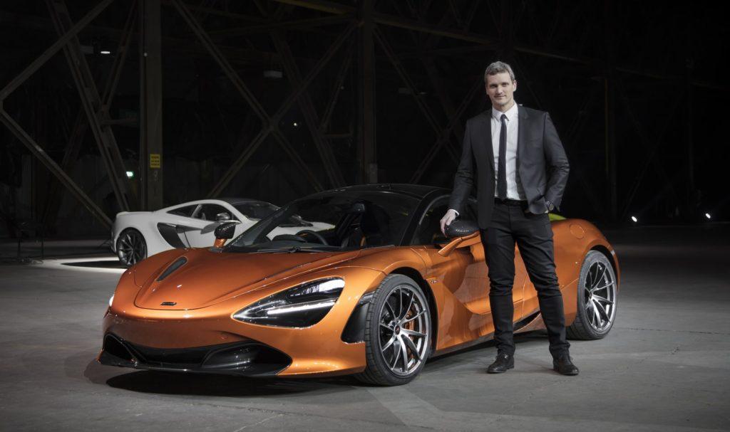 McLaren: Rob Melville è il nuovo direttore del design
