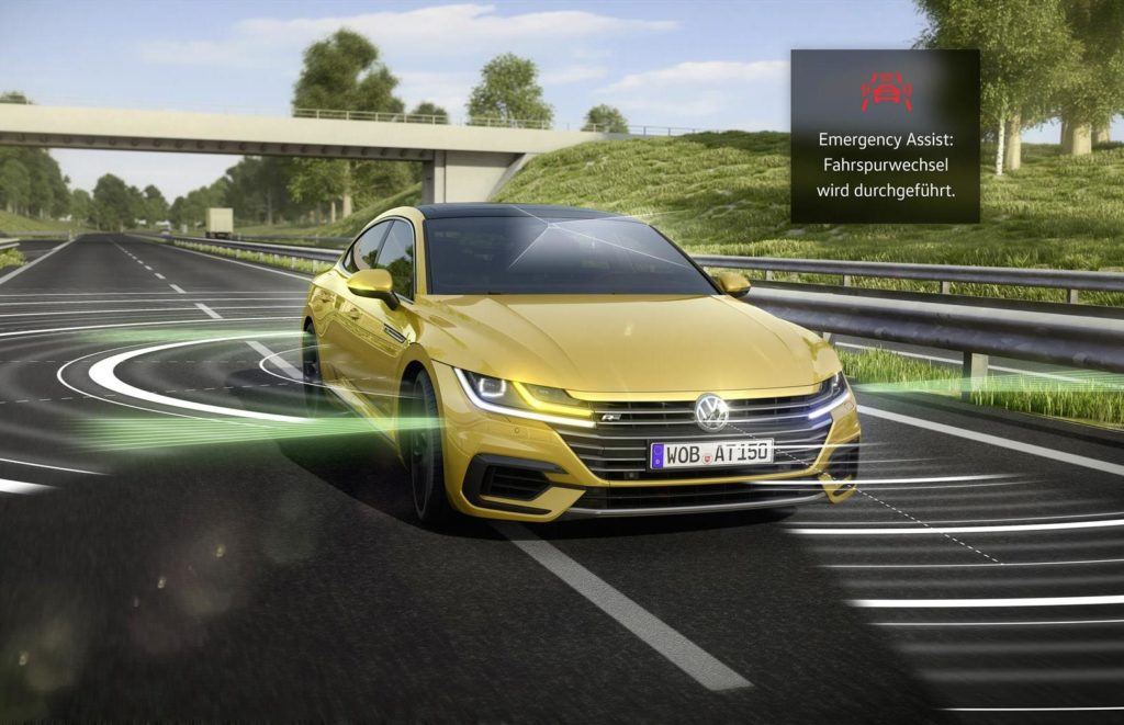 Volkswagen Arteon: focus sull'innovativo sistema Emergency Assist 2.0