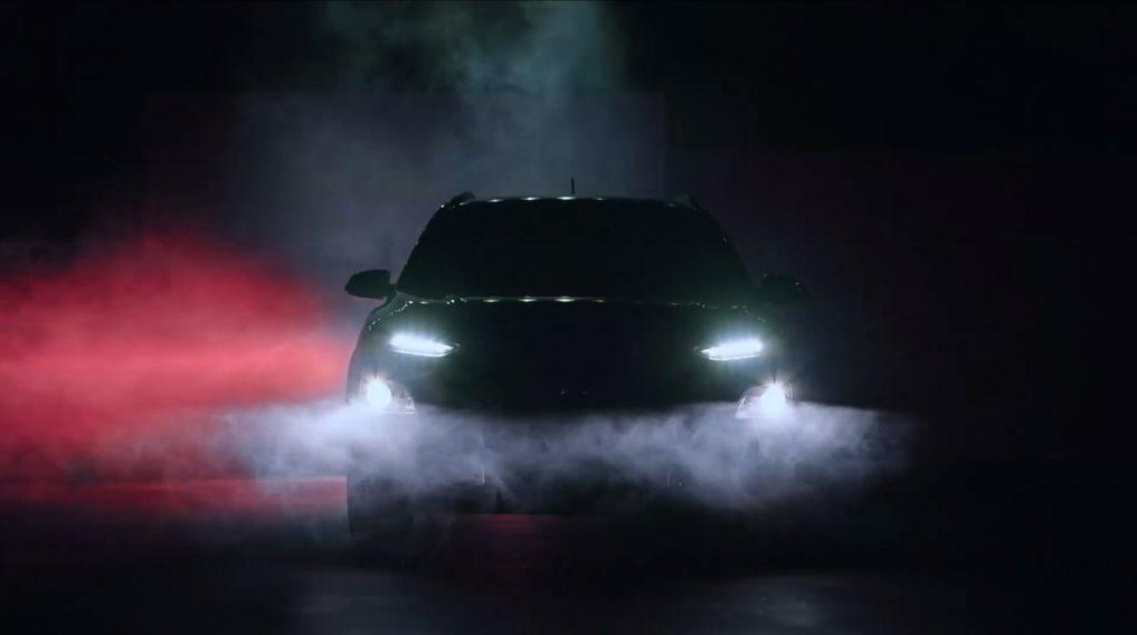 Hyundai KONA: un filmato comincia a svelare il design [VIDEO TEASER]