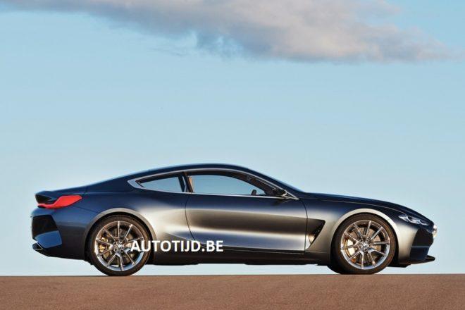 BMW Serie 8, ecco il concept della nuova ammiraglia a due porte