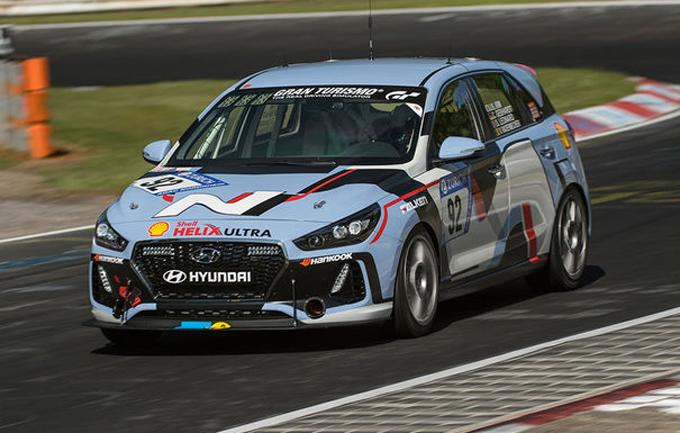 24 Ore del Nürburgring, Hyundai: sfiorato il podio nella classe SP3T