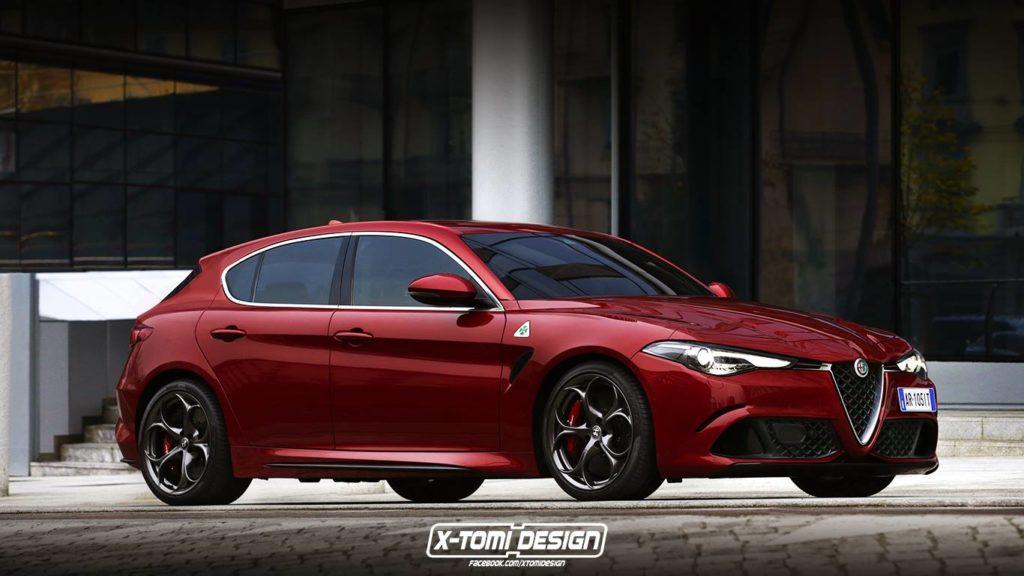 Alfa Romeo Giulietta: il nuovo modello potrebbe essere così? [RENDER]
