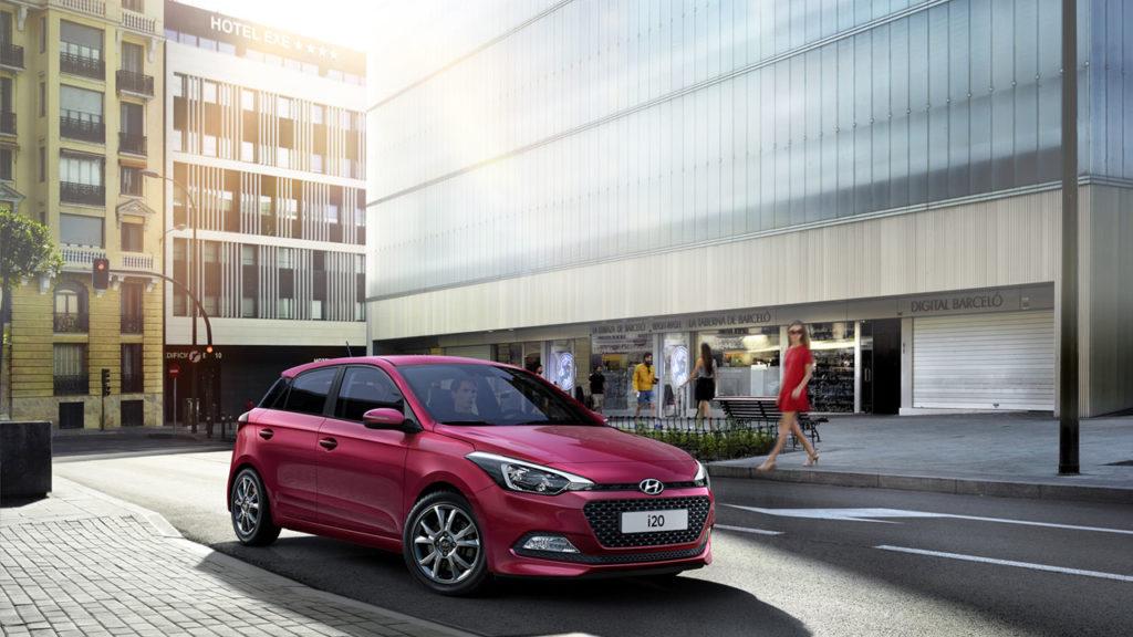 Hyundai i20: nuove dotazioni e versioni al top