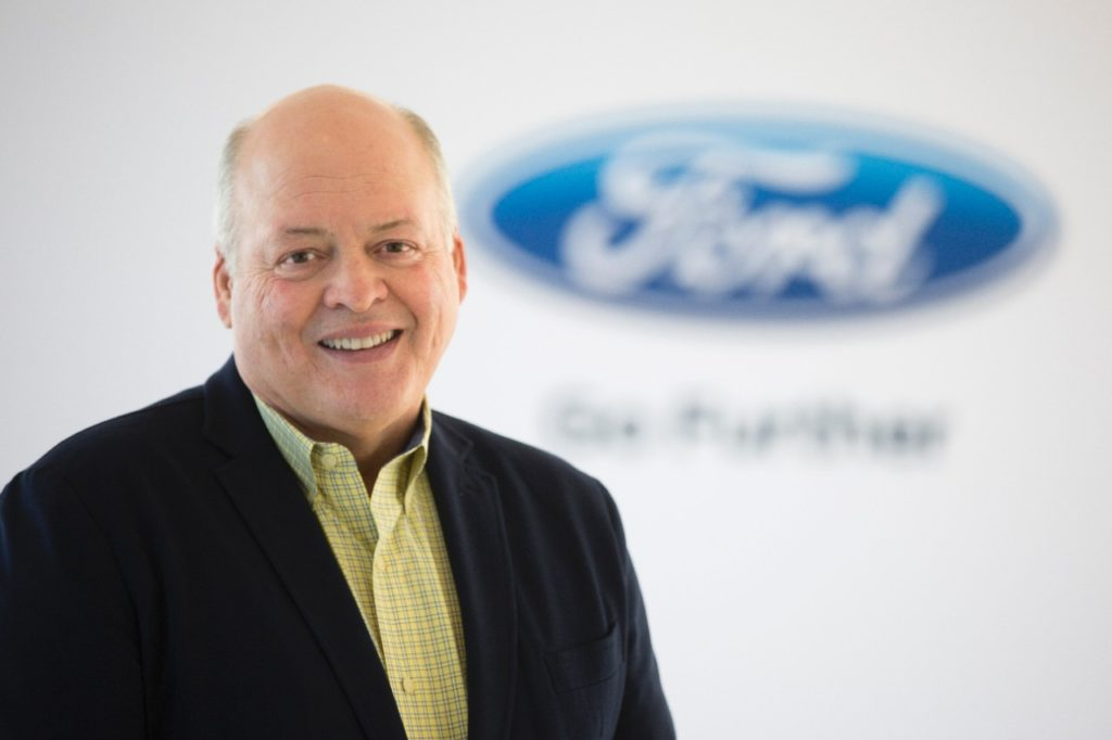 Ford: il nuovo CEO é James Hackett