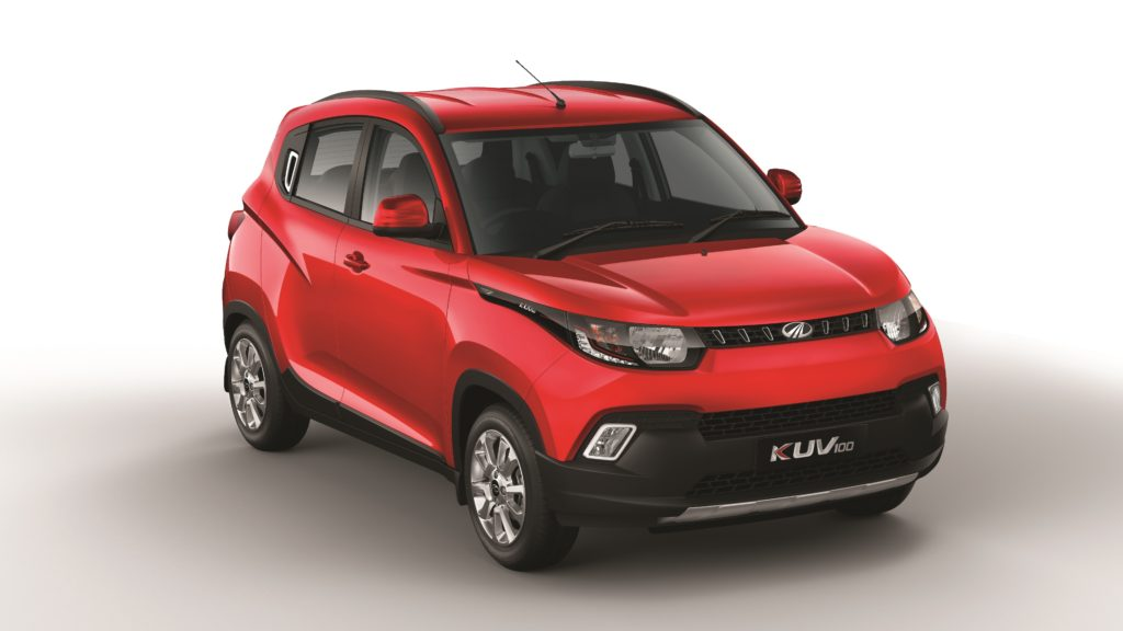 Mahindra KUV100: il crossover compatto si mostra al Salone di Barcellona