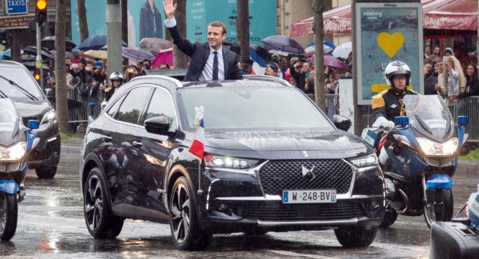 Macron ha scelto una DS 7 Crossback