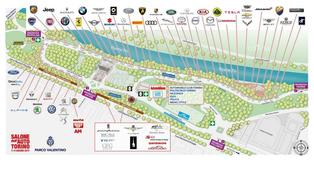 Parco Valentino 2017: ben 55 le case costruttrici presenti