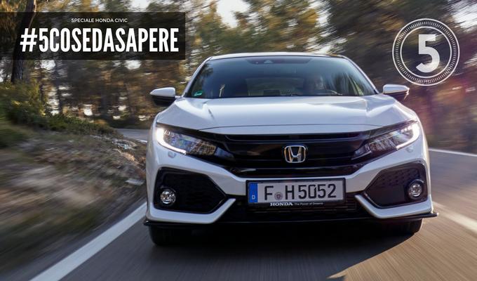 Nuova Honda Civic 2017: unire dinamismo ed efficienza [SPECIALE – QUARTA PARTE]