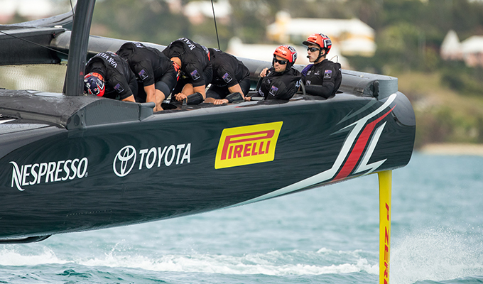Pirelli e Team Emirates New Zealand: assalto all'America's Cup 2017