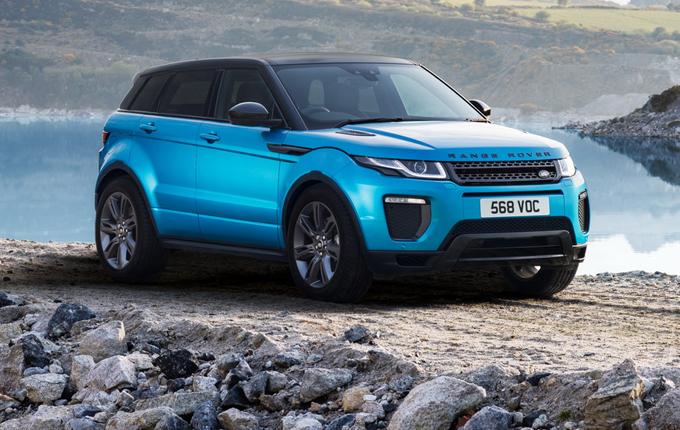 Land Rover celebra la Evoque con l'edizione speciale Landmark