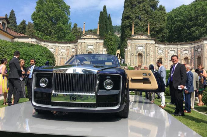 Rolls Royce Sweptail: l'esclusiva one off è stata svelata al Concorso d'Eleganza Villa d'Este [VIDEO]