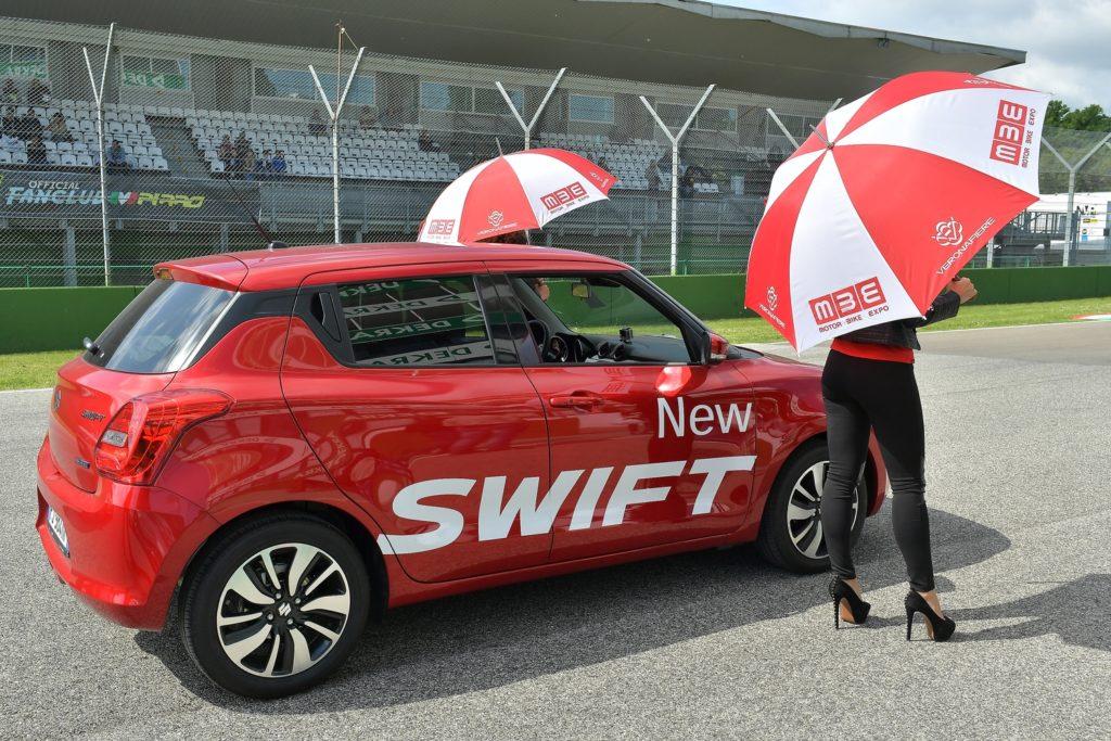 La nuova Suzuki SWIFT è l'Auto Ufficiale del Campionato Italiano Velocità 2017 [FOTO]