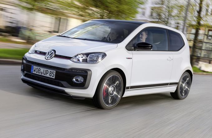 Volkswagen Up! GTI: l'utilitaria in versione pepata da 115 CV [FOTO e VIDEO]